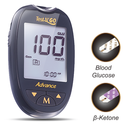 Our advanced and innovative Gold Strip Technology, assures that blood glocouse and ketone readings are accurate and reliable.