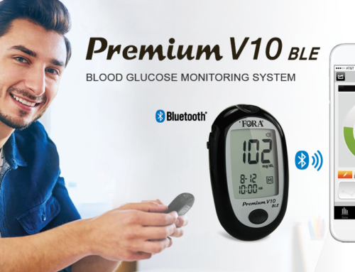 Premium V10 BLE Helps Manage Diabetes