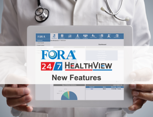 New Features Added to the FORA 24/7 HealthView